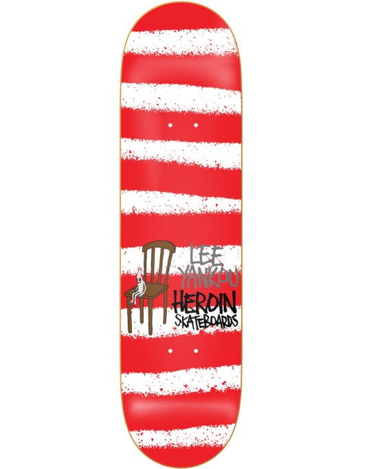 Heroin Yankou Striped Icon Pro Deck - 8.38""