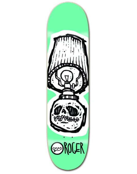 Roger Skull Lamp Team Deck - 8""