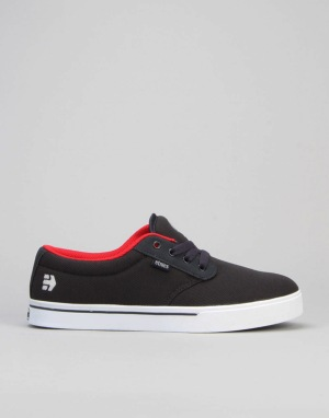 Etnies Jameson 2 Eco Skate Shoes - Navy/Red/White