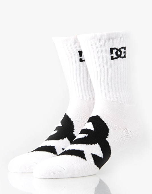 DC Willis Socks - 3 Pack - White