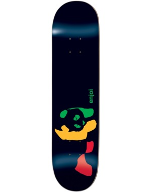 Enjoi Rasta Panda Team Deck - 7.5