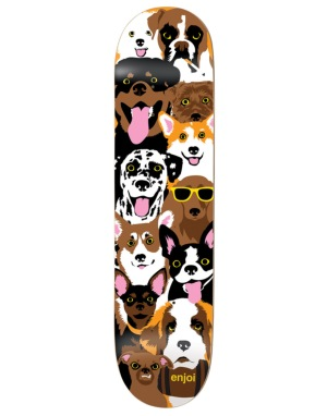Enjoi Dog Collage Team Deck - 7.75