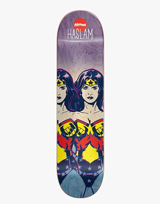 Almost x DC Comics Haslam Wonder Woman Fade Pro Deck - 7.75""