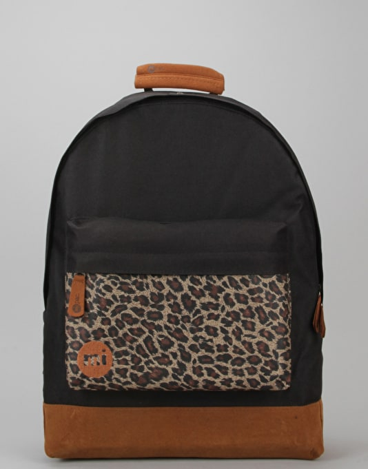 Mi-Pac Custom Backpack - Black/Leopard