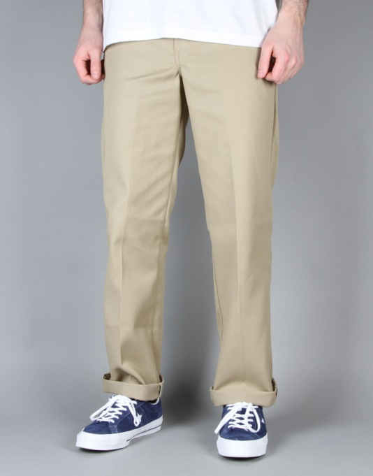 Dickies 873 Slim Work Pants - Khaki