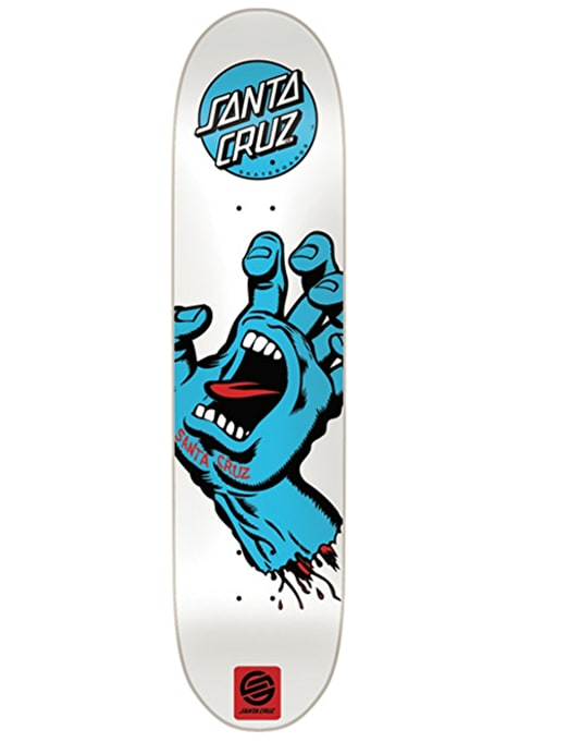Santa Cruz Screaming Hand Team Deck - 7.5""