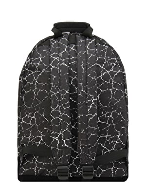 Mi-Pac Cracked Backpack - Black/Silver