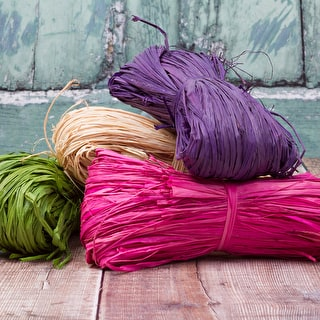 Colourful Raffia