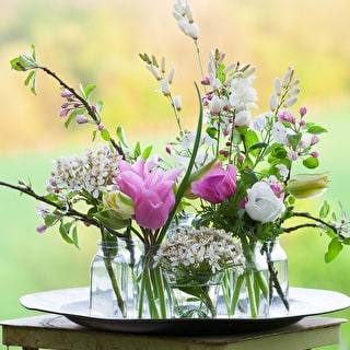 Spring Flower Arranging - Inspiration from the Garden