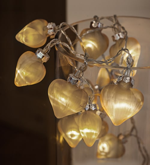 Glass Heart Lights