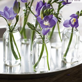 Milk Bottle Vases