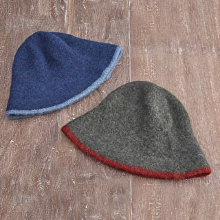 Wool Cloche Hat