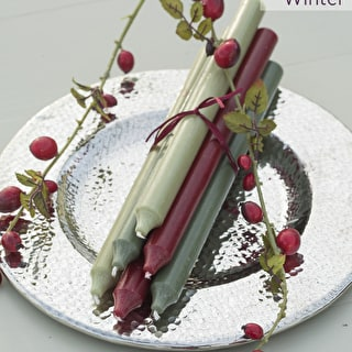 Winter Dinner Candle Set