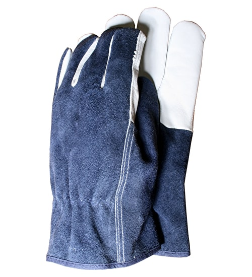 Premium Leather & Suede Gloves