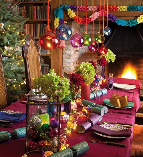 Christmas Flowers, Wreaths and Decorations