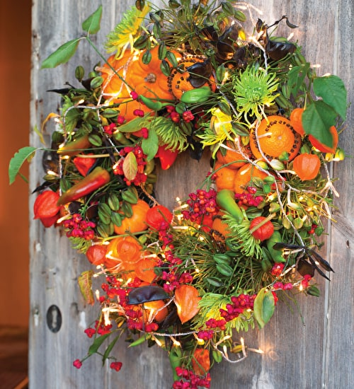 christmas flowers wreaths and decorations at the emma bridgewater factory christmas courses sarah