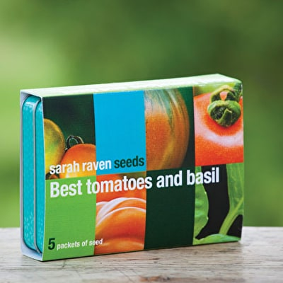 The Best Tomato and Basil Seed Collection