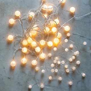 Crackle Ball Lights