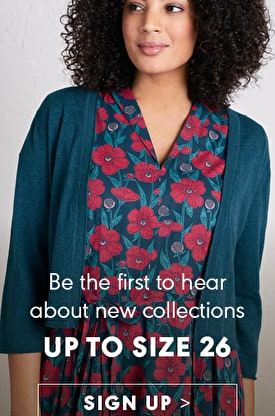 Be the first to hear about new collections up to size 26