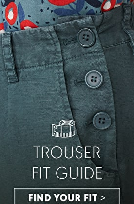 Trouser fit guide