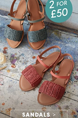 2 for £50 Sandals >