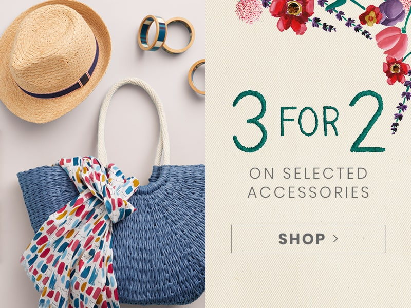 3 for 2 On All Accessories