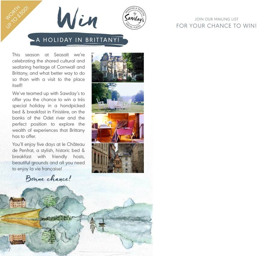 Win a Holiday in Brittany