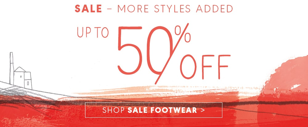 More styles added, Up to 50% off