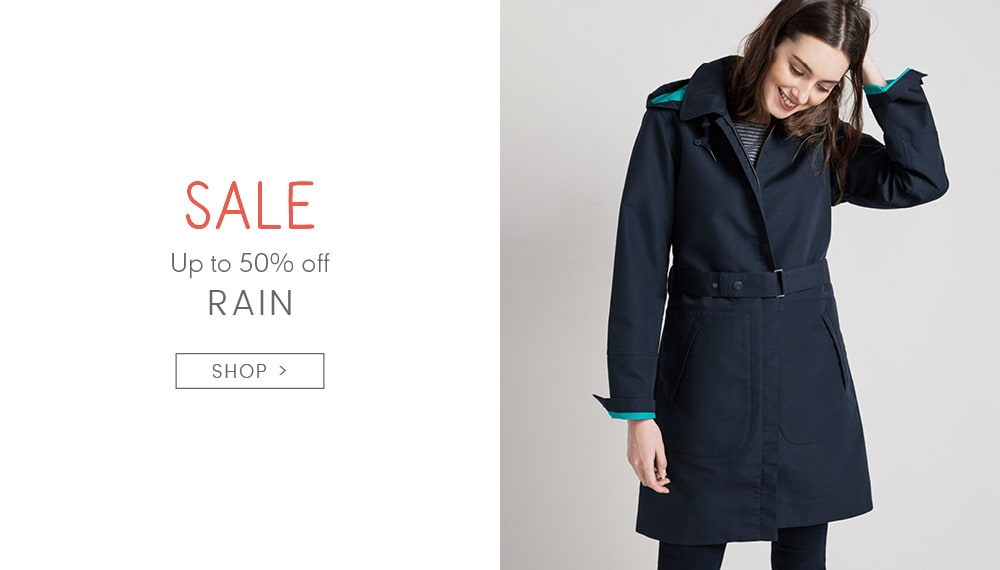 Up to 50% off Rain. SHOP