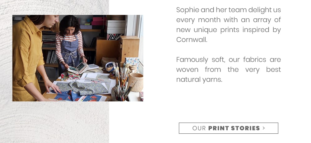 Find out more about the unique prints Sophie & her team design