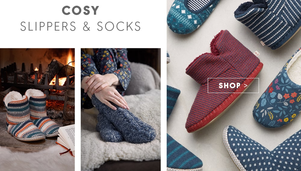 Cosy Slipppers and Socks