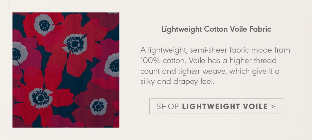 Shop Lightweight Voile