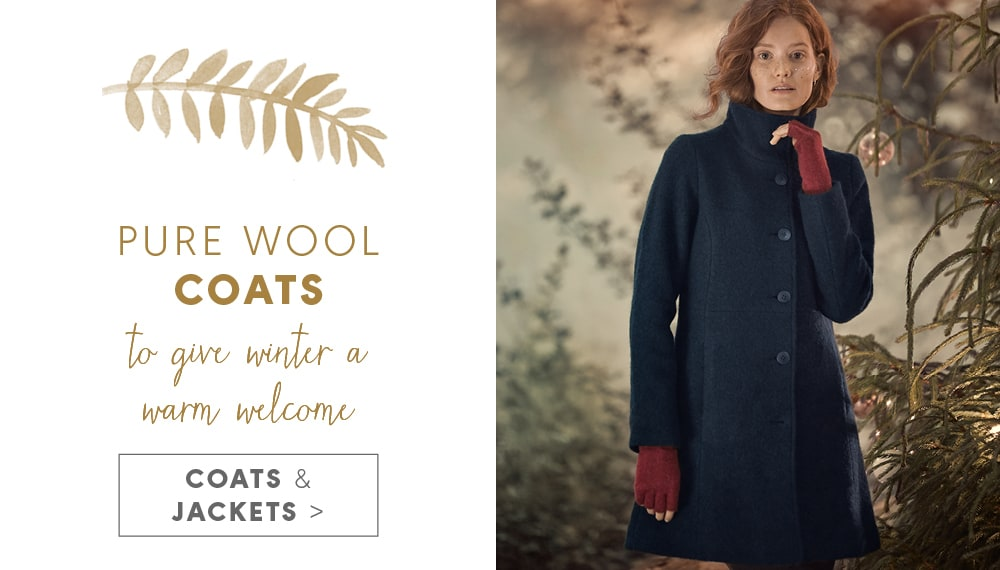 Pure Wool Coats - to give winter a warm welcome