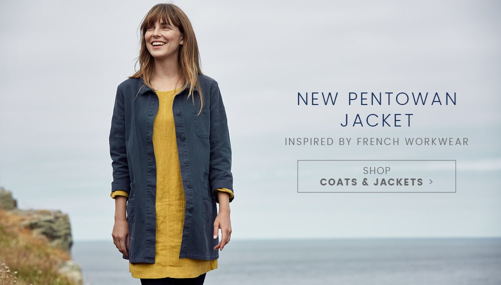 New Pentowan Jacket, Inspired by French Workwear - Shop Coats & Jackets