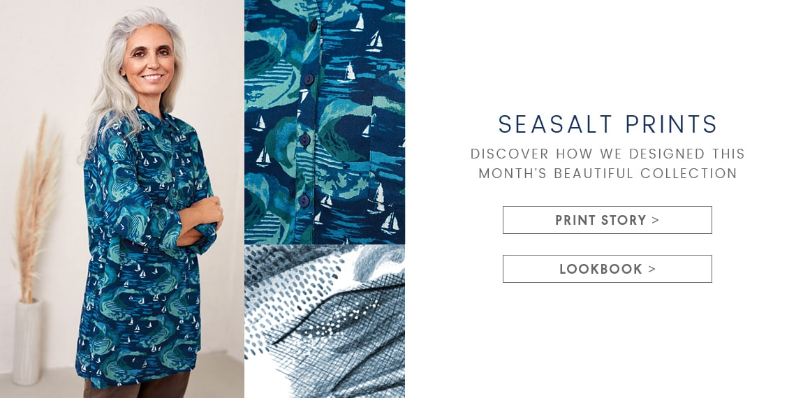 Seasalt Prints. Discover how we designed this months beautiful collection