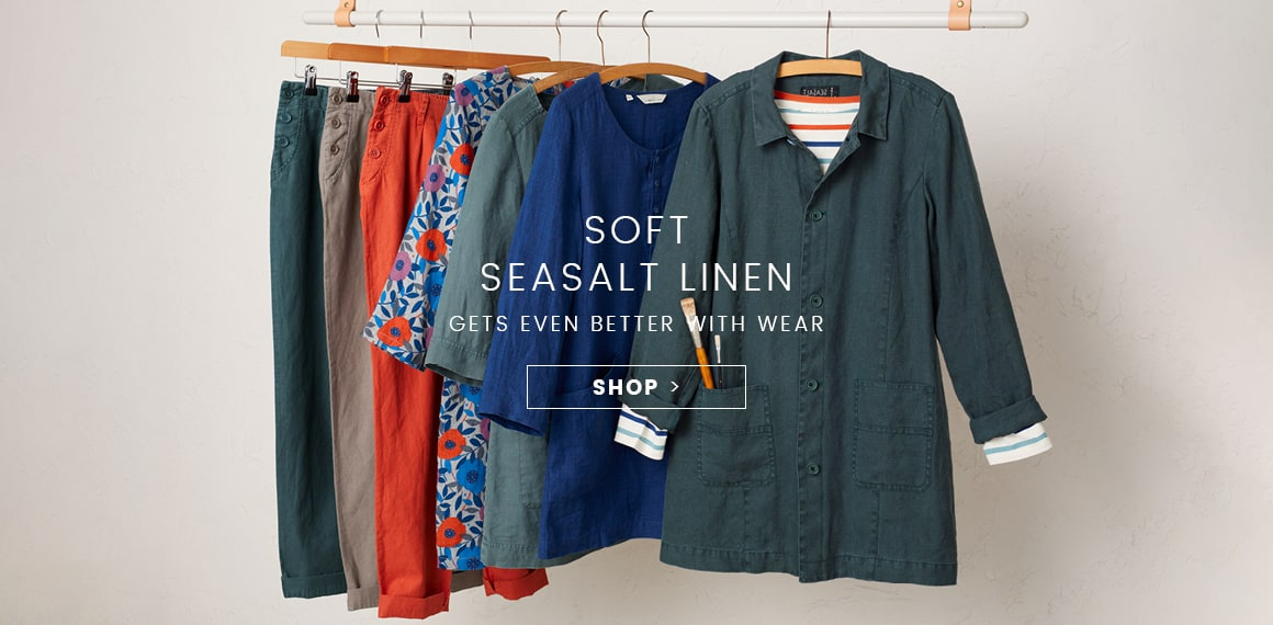 Soft Seasalt Linen