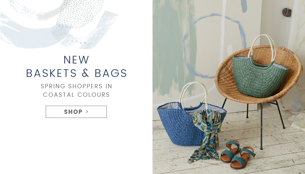 New baskets and bags