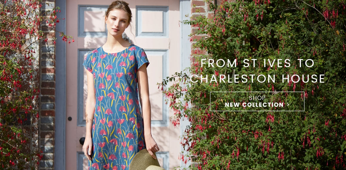 From St Ives to Charleston House. Shop New Collection