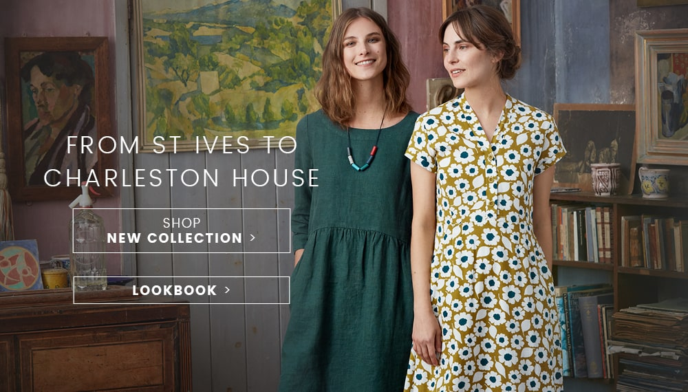 From St Ives to Charleston. Shop New Collection.