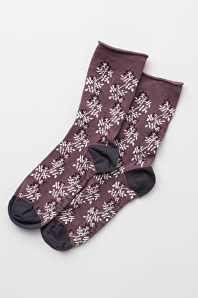 Women's Bamboo Arty Socks, Lightweight Ankle Socks
