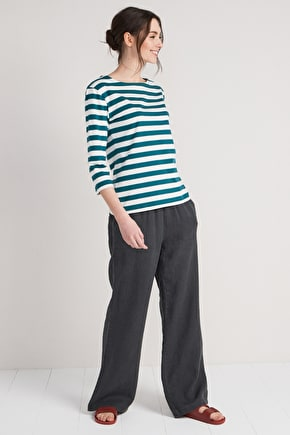 Sea Rocket Trouser, Wide Leg Linen Trousers - Seasalt