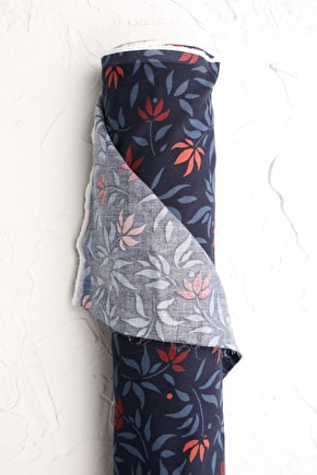 Unique Printed and Patterned Needlecord Fabric - Seasalt