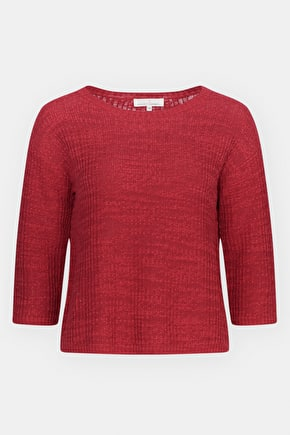 Goss Moor Jumper, Cotton Linen Slub Yarn Jumper - Seasalt