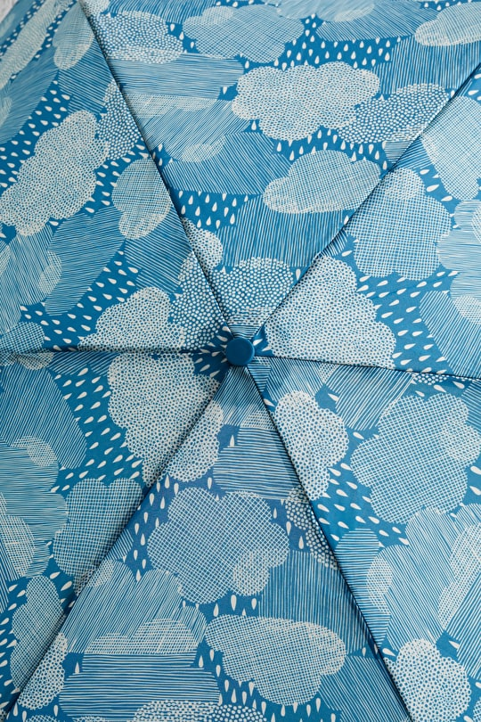 Nautical Handbag Rain Stopper Umbrella - Seasalt