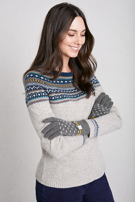 Women's Very Clever Knitted Touchscreen Gloves - Seasalt