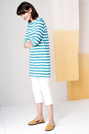 Sailor Tunic, Breton Striped Organic Cotton Tunic - Seasalt