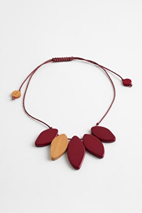 Paint Splash Haldu Wood Necklace - Seasalt Cornwall