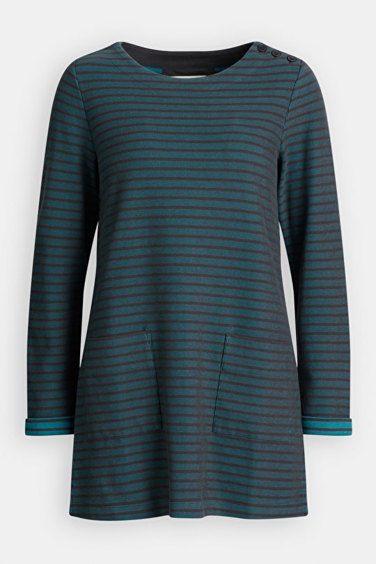 Connie Tunic, Striped Jacquard Design - Seasalt