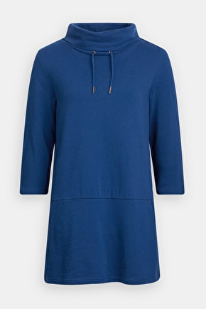 Gwenver Sweatshirt, Melange Cotton Jersey - Seasalt Cornwall