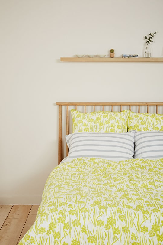 Print & Plain Cotton Duvet Cover